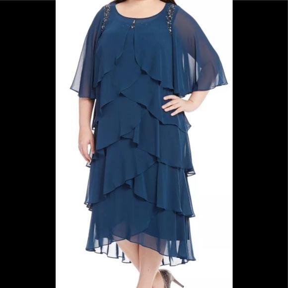 Women's Plus Size Formal Dresses Size 14W NEW